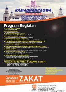 Agenda Ramadhan 1435 H